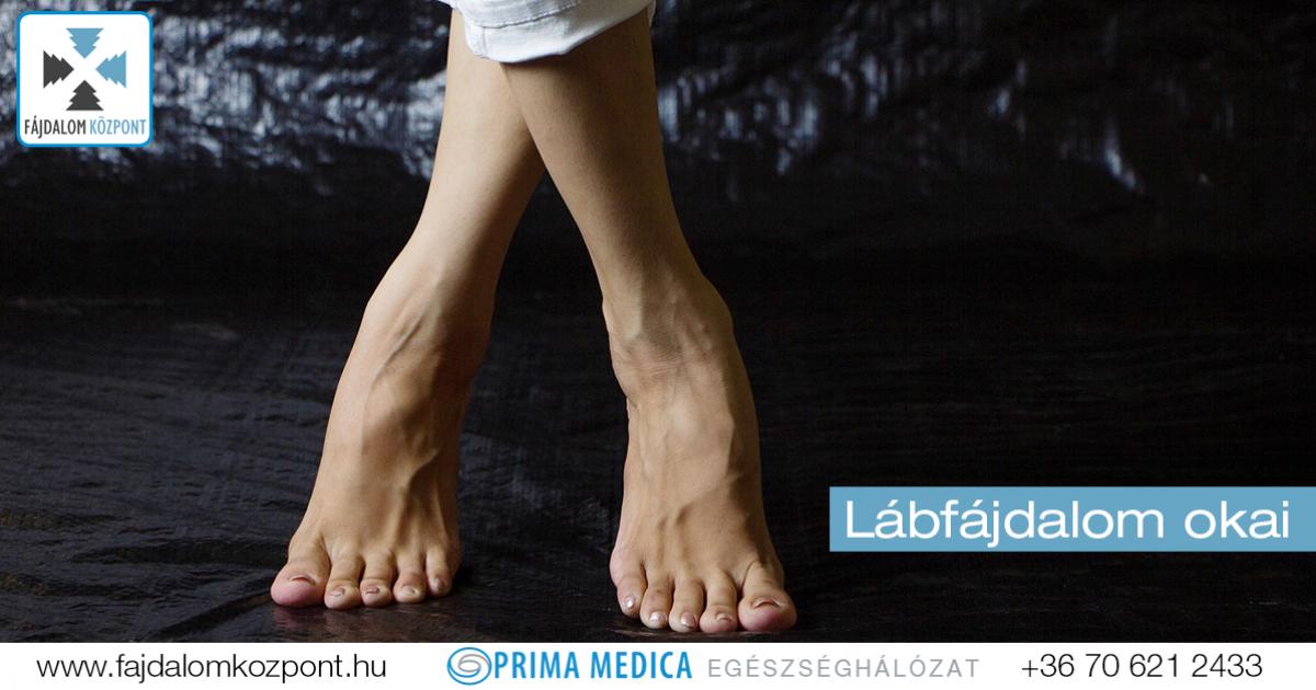 lábfájdalom a boka