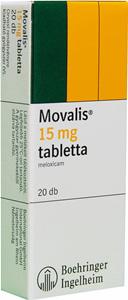 MOVALIS 15 mg/1,5 ml oldatos injekció - Gyógyszerkereső - EgészségKalauz