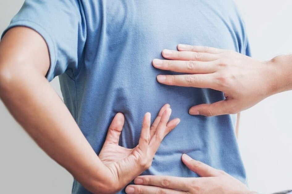 fáj a hát és a lábak ízületei folyadék a térdízület kezelésének felső inverziójában