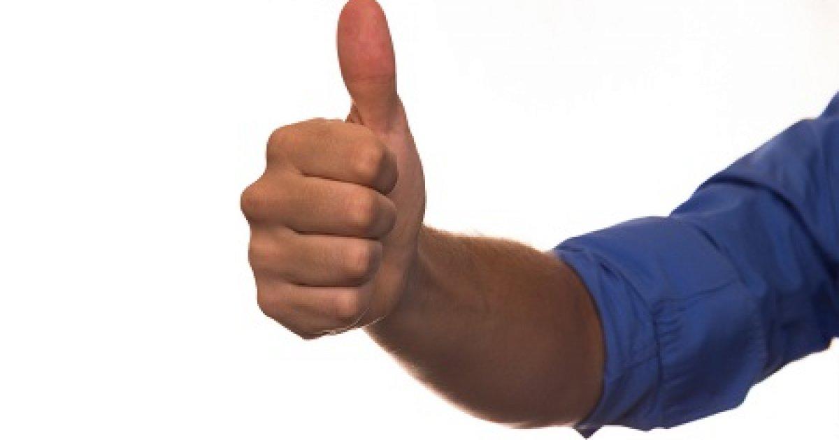 az ujj hajlításakor az ízület fáj