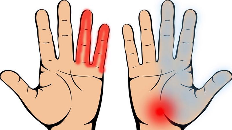fájó fájdalom a bal kéz vállízületében térdfájdalom okai és kezelése