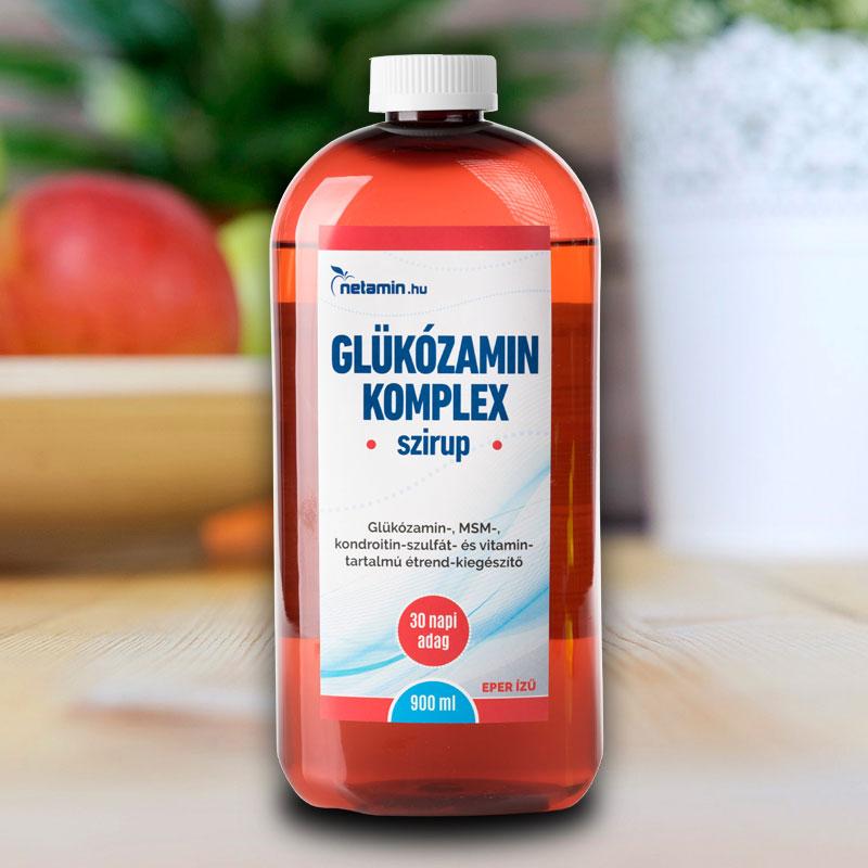 glükozamin és kondroitin komplex térdízületek fájdalmainak kezelése